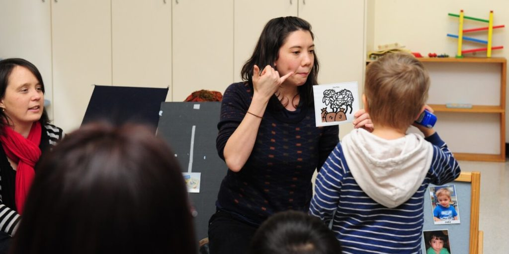 music language and literacy, Hanen It Takes Two to Talk