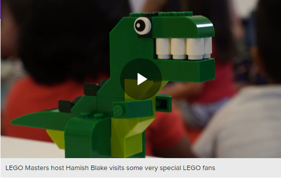 Lego video link